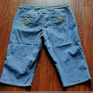SMITHS Dungaress Blue Shorts